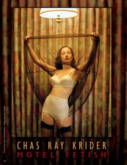 Dita Von Teese by Chas Ray lroder
